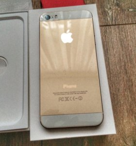 iPhone 5s 16 gb gold с чеком
