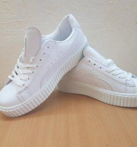 Кроссовки Creeper белые