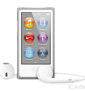 Плеер MP3 Apple iPod Nano 16GB Silver (MD480RU/A)