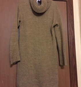 Платье свитер