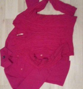 Блузка+кофта