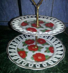 ваза для фруктов и конфет