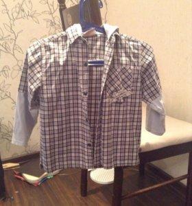 Рубашка с копюшоном