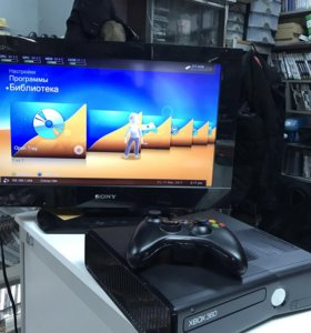 Xbox 360 Slim 250Gb/500Gb + Lt+3.0 / Freeboot