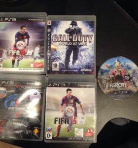 FIFA ;call of duty; gran turismo 5; far cry 4 PS3