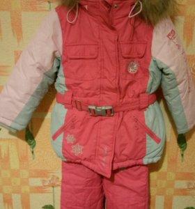 Зимний комплект на девочку