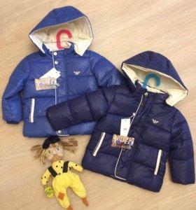 Новая куртка Армани
