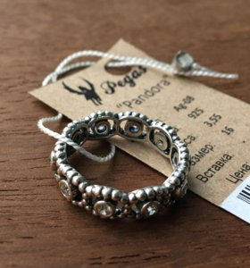 Серебренное кольцо Pandora
