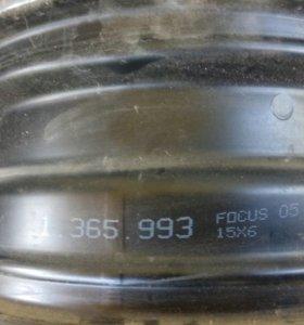 Диски штампованные 15 Ford Focus 2шт