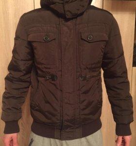 Тёплая мужская куртка ZARA