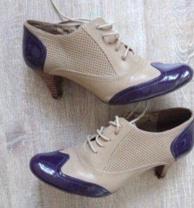 Ботильоны ботинки женские в х/с кожзам 37