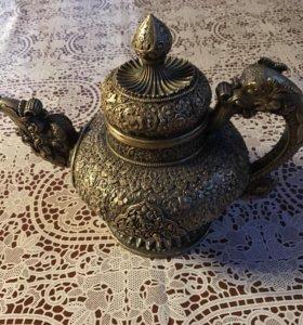 """Антикварный чайник """"дракон"""""""