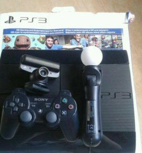 PlayStation 3 ( в комплекте ps move , ps eye )