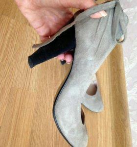 2:Замшевые туфли+балетки