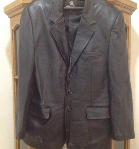 Мужской пиджак- кожа натуральная(новый)
