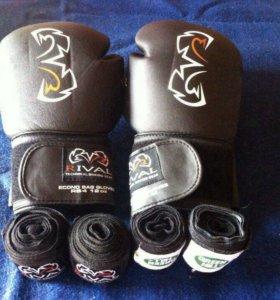 Перчатки боксерские Rival