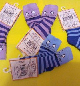 Махровые носочки детские