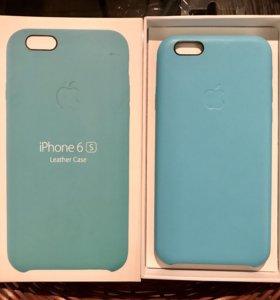 Кожаный чехол iPhone 6S