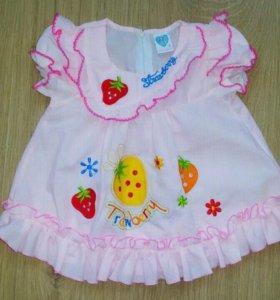 платье для малышки Новое