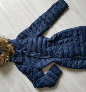 пальто-куртка💙новая.