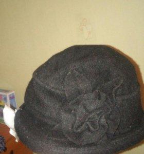 Шляпа шерстяная👒