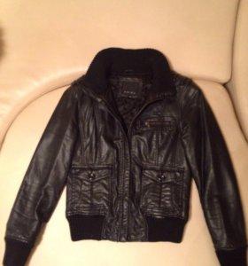 Куртка(кожа)б/у