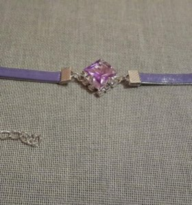 Браслет фиолетовый