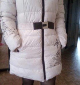 Куртка зимняя теплая очень