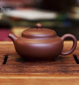 Чайник с фильтром (исинская глина) 250 мл.