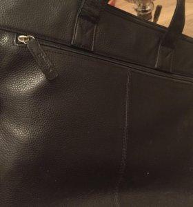 Кожаная сумка Redmond