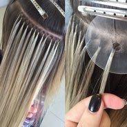 Обучения наращиванию волос
