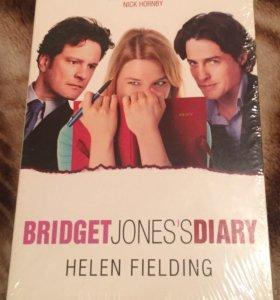 """Книга на английском """"Дневник Бриджит Джонс"""""""
