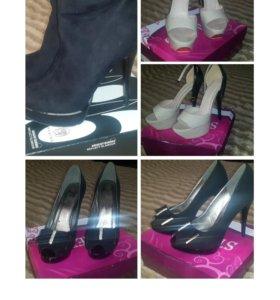 Обувь 3 пары