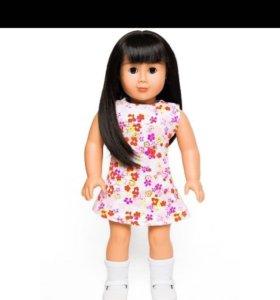 Новая виниловая большая кукла