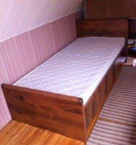 КОМПЛЕКТ МЕБЕЛИ : кровать, комод и письменный стол