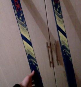 Лыжи полупластиковые