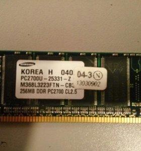 Оперативная память ( ОЗУ )265MB Samsung