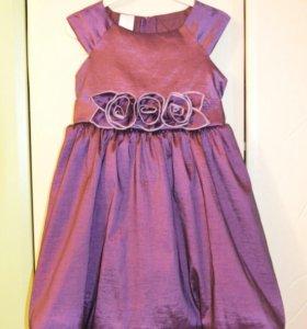 Нарядное платье 3-5 лет