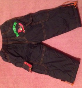 Детские штаны тёплые