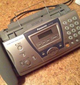 Телефон факс Panasonic KX-FP148