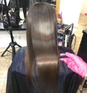 Ботокс, Кератиновое выпрямление, спа для волос