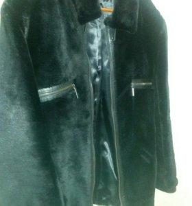 Куртка меховая кожаная зимняя