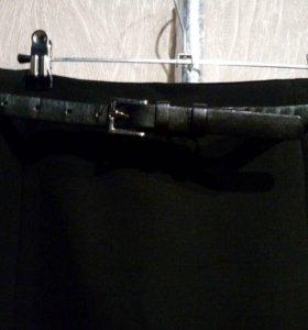 Юбка стрейдж на подкладке
