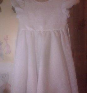 Нарядное платье 116-122