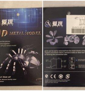 3D модель паука (птицеед)