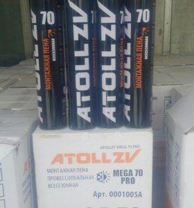 Профессиональная монтажная пена ATOLL 70L