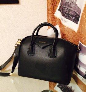 Сумка чёрная Givenchy lux