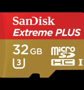 Micro sd 32 GB Sandisk Extreme plus новая
