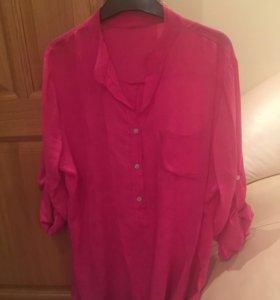 Фирменная итальянская блузка , новая !сумки LV