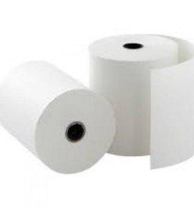 Кассовая бумага, термолента, чековая лента